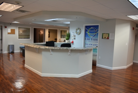Ebb Tide.Office Photo.Reception Area