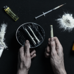 addict using synthetic drugs